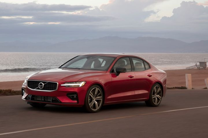 Volvo will begin limiting the top speed of its vehicles in 2021, including the 2019 S60 entry luxury sedan (shown).