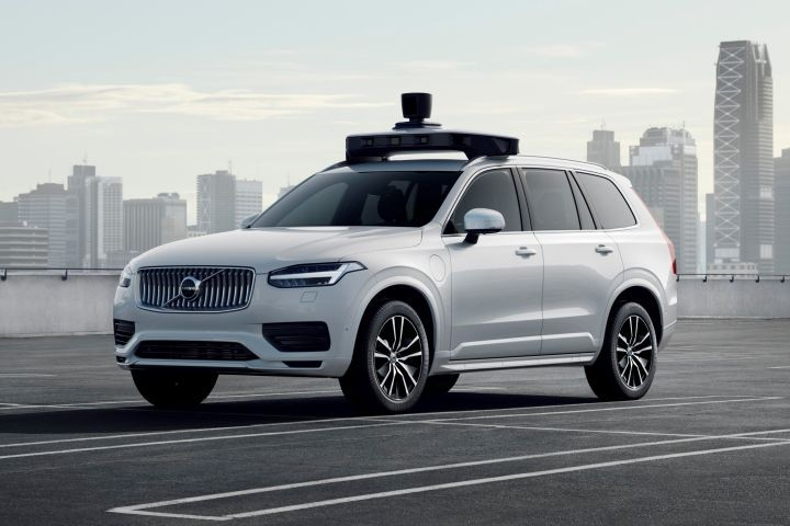Volvo has developed a production-ready XC90 that's capable of Level 4 autonomous driving.  - Photo courtesy of Volvo.