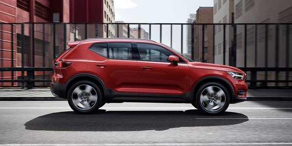 Volvo's XC40 (shown) has earned a Top Safety Pick+, while the XC60 has been named a Top Safety...
