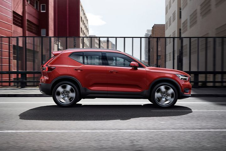 Volvo's XC40 (shown) has earned a Top Safety Pick+, while the XC60 has been named a Top Safety Pick.