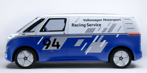 Volkswagen's I.D. Buzz Cargo van is a concept vehicle that could provide the company an entry...