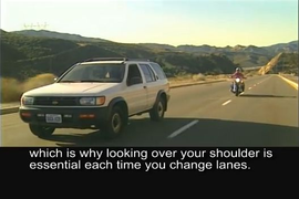 Video: How to Share the Road with Motorcyclists