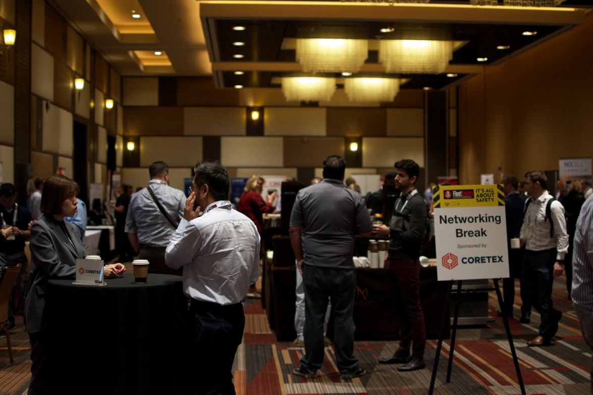 Attendees had multiple opportunities to network with peers and event sponsors.