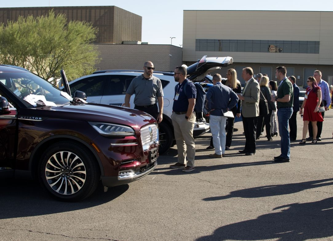This year's event featured a vehicle safety & technology showcase where attendees could see new...