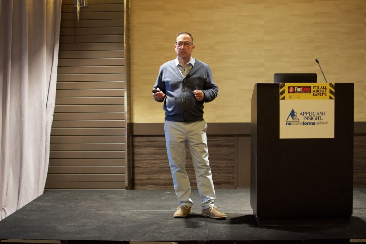 Rob Minton ofGeotabdiscussed how data is only as valuable as the contextual data a fleet has...