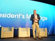 Bob White, president of ARI, kicked off the conference with a message on the current state of...
