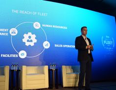 Trip O'Neil presented during a talk on the major trends that will impact fleets in the near...
