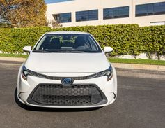 The compact car offers a city mpg of 53 miles, a highway mpg of 52 miles, and a combined amount...