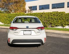 The hybrid is available with Toyota's Safety Sense 2.0, which offers a pre-collision system with...