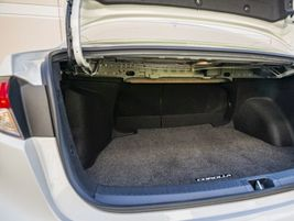 The battery is stored beneath the rear seats, which means the Corolla Hybrid retains its...