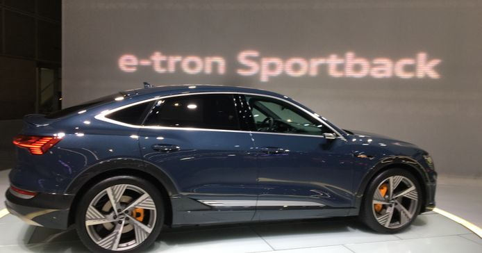 Audi's E-Tron Sportback sedan comes to market after the EV's launch was delayed because of...