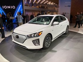 Hyundai's 2020 Ioniq Electric Adds 37% More Range
