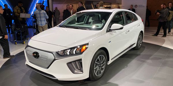 Hyundai's Ioniq Electric is adding 44 miles of range in a 2020-MY redesign.