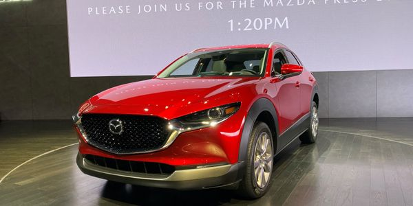Mazda's smaller-than-a-CX-5 2020 CX-30 SUV will make 186 hp.