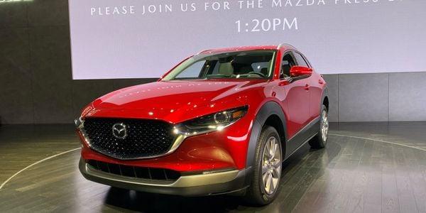 Mazda's smaller-than-a-CX-52020 CX-30 SUV will make 186 hp.