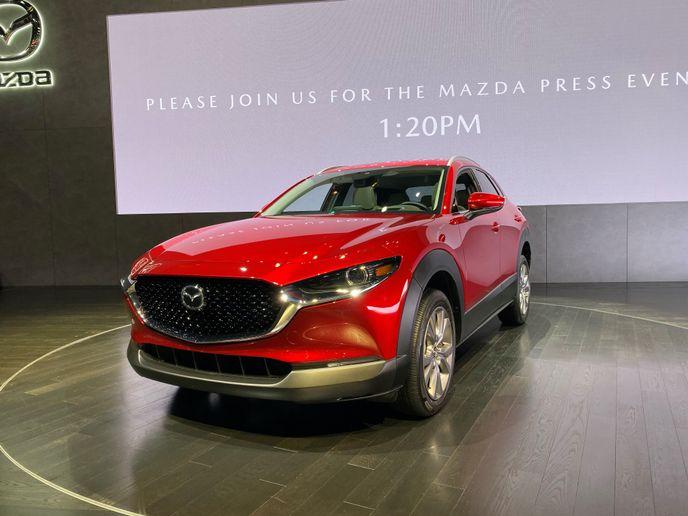 Mazda's smaller-than-a-CX-52020 CX-30 SUV will make 186 hp. - Photo by Eric Gandarilla.