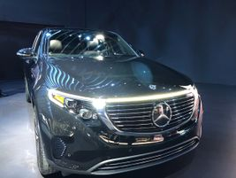 The 2020 Mercedes EQC willcompete with the Jaguar I-Pace, Audi E-tron, andFord Mustang Mach-E....