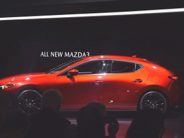 Mazda unveiled the fully redesigned 2019 Mazda3 at the LA Auto Show on Nov. 28., which features...