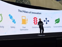 Colin Sutherland, executive VP, sales and marketing, Geotab, kicked off the Geotab Connect 2020...