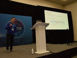 Dan Dodgson, data engineering manager, Geotab, spoke during a breakout session at Geotab Connect...