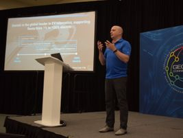Matt Stevens, VP, electric vehicles, Geotab, discussed the company's latest investments in EV...