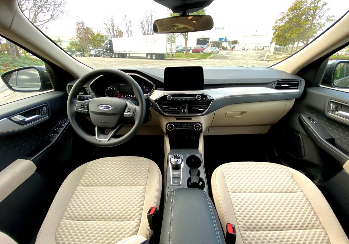 The driver and front passenger seats were comfortable. FordPass Connect, which provides 4G LTE...