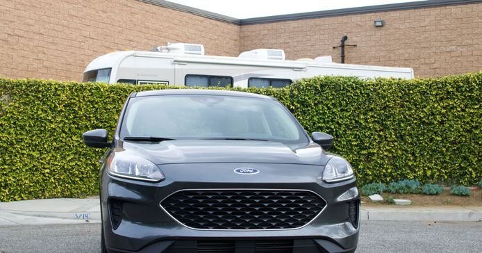 The 2020 Ford Escape features aredesigned exterior.