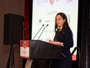 Katie Keeton, AFLA president, provided opening remarks at the AFLA CanadaFleet Summit.