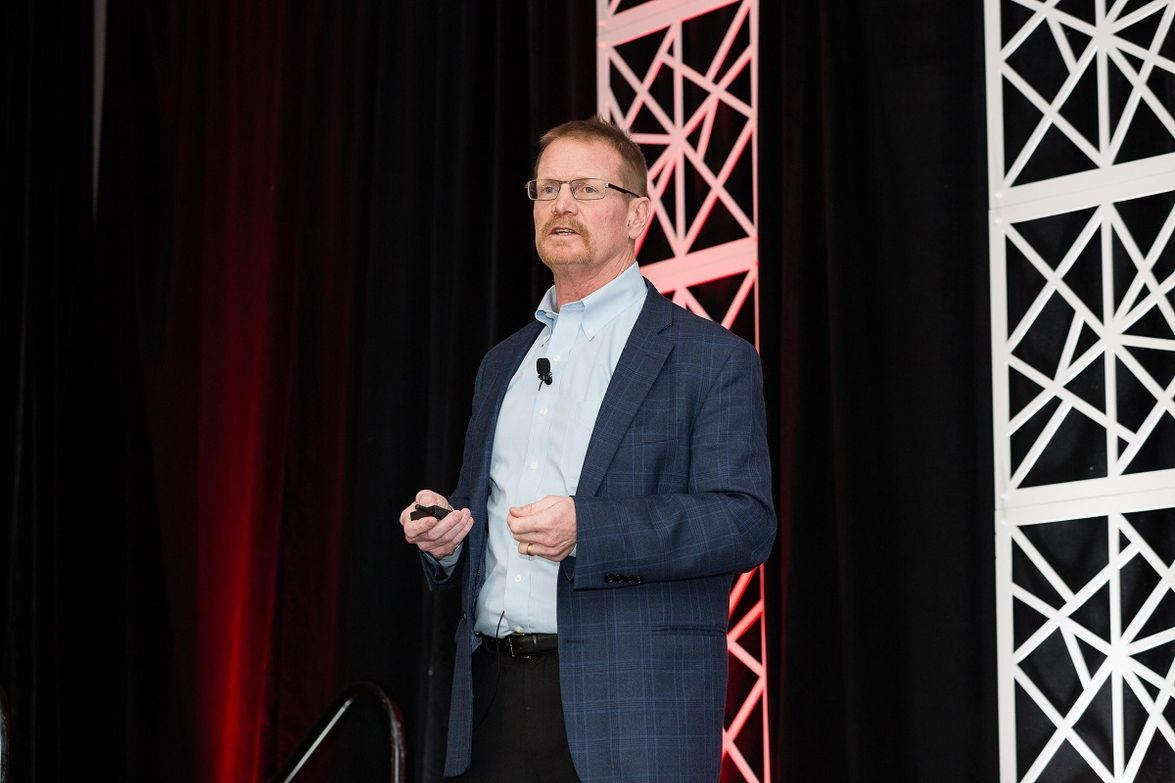 Keith McLaughlin, editor & publisher of Canadian Automotive Fleet, presented the keynote...