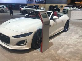 Jaguar introduced the new 2021 Jaguar F-Type at the Chicago Auto Show, which is available in...