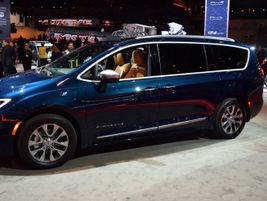 FCA announced several updates to its Pacifica minivan in Chicago, including the addition of an...