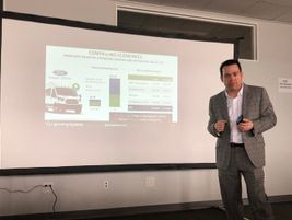 Tim Reeser, CEO and co-founder of Lightning Systems, gave a presentation on the importance of...