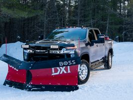 The independent front suspension on the Silverado 2500HD and 3500HD ensures that the ride is...