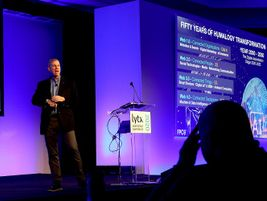 Keynote speaker Scott Klososky, the founding partner of Future Point of View, discussed how...