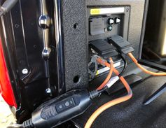 An available Pro Power Onboard power generator provides exportable power on the 2021-MY F-150,...