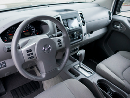 Leather appointments in the cabin are included with the Value Truck package.