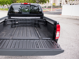 The spray-on bedliner is also included in the Value Truck package.