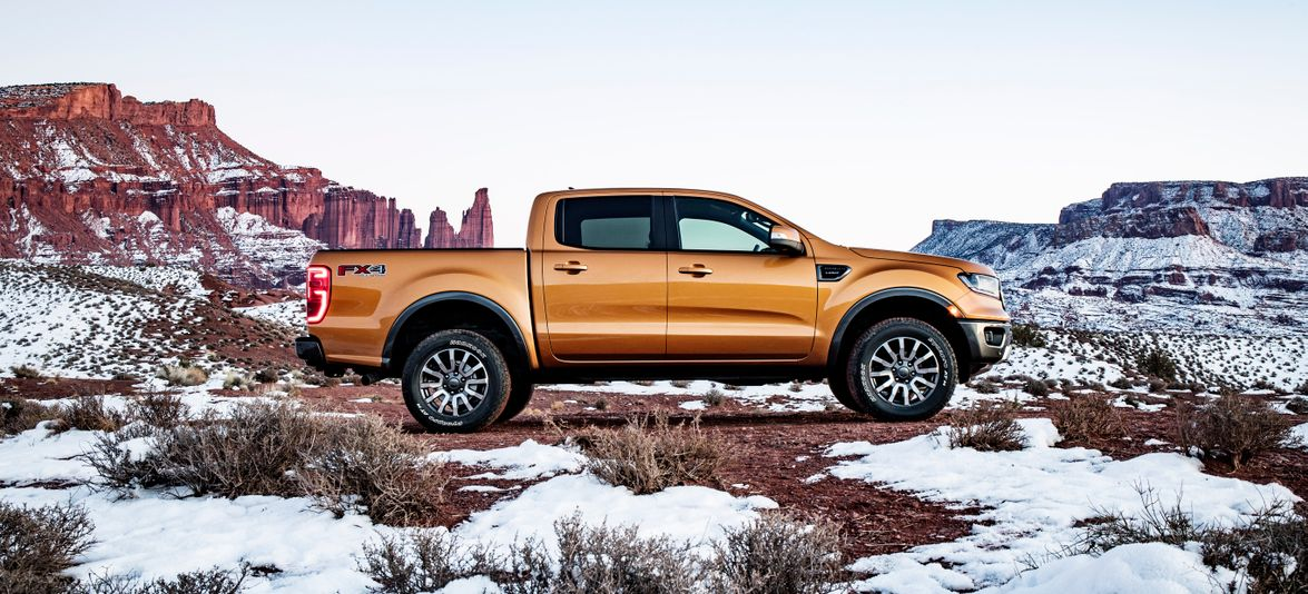 The new Ranger will be mainly composed of high-strength steel, but will also feature aluminum in...