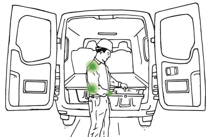 Improper ergonomic behavior can result in musculoskeletal injuries, which account for more than...