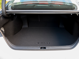 All Camry models above the base offer 15.1 cubic feet of trunk space. The L model offers 14.1...