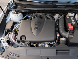 The 3.5-liter V-6 is 8% more efficient that the outgoing model, and makes 301 hp.