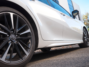 The XSE rides on 19-inch alloy wheels.