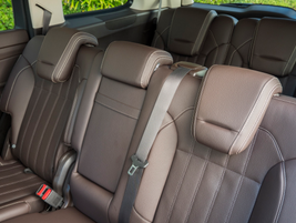The GLS450 can seat up to seven adults.