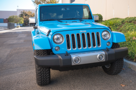 Jeep's 2017 Wrangler Unlimited Chief