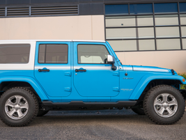 The Chief Edition is based on the Sahara 4x4 and adds the smaller 17-inch wheels (18-inch are...