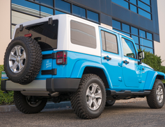 The Wrangler can tow up to 3,500 pounds. A base Sahara retails for at least $34,245, while our...