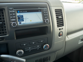 The NV adds a 5-inch color screen with Bluetooth audio and phone across all grades.