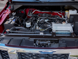 A new 5.6-liter V-8 makes 375 hp. It's paired with a 5-speed automatic transmission.