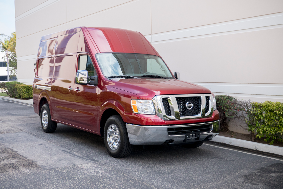 Nissan offers its NV Cargo in three models, including NV1500, NV2500HD, and NV3500HD.