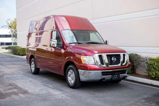 Nissan offers its NV Cargo in threemodels, including NV1500, NV2500HD, and NV3500HD.